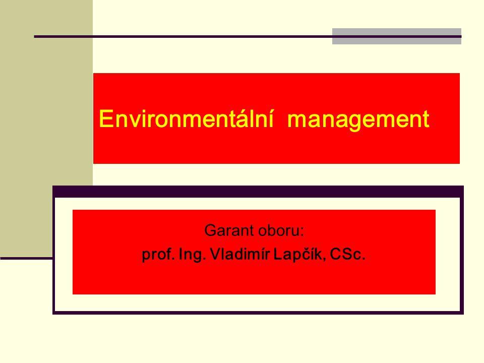 Environmentální management