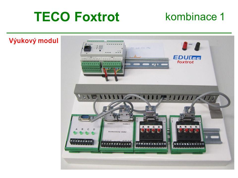 TECO Foxtrot kombinace 1 Výukový modul