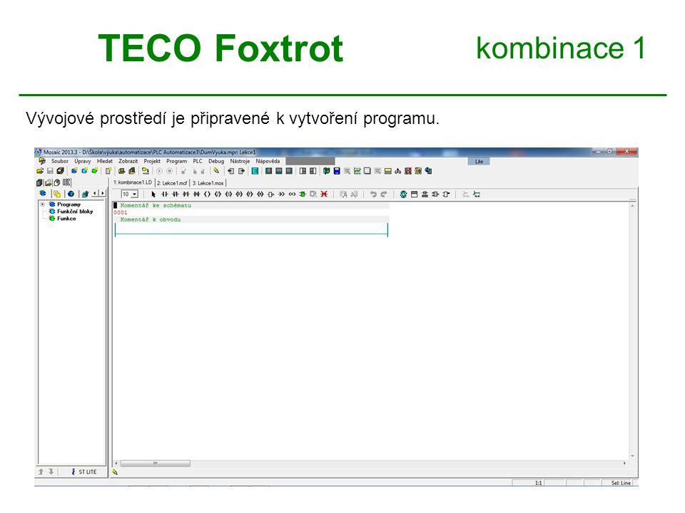 TECO Foxtrot kombinace 1