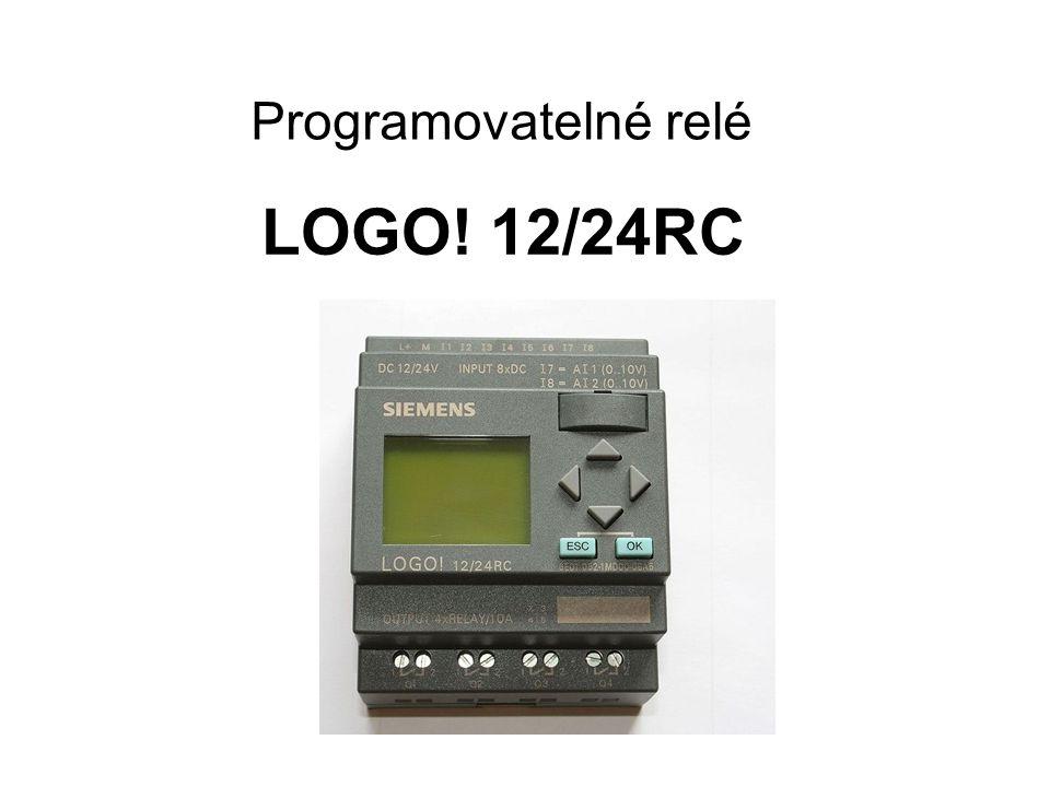 Programovatelné relé LOGO! 12/24RC