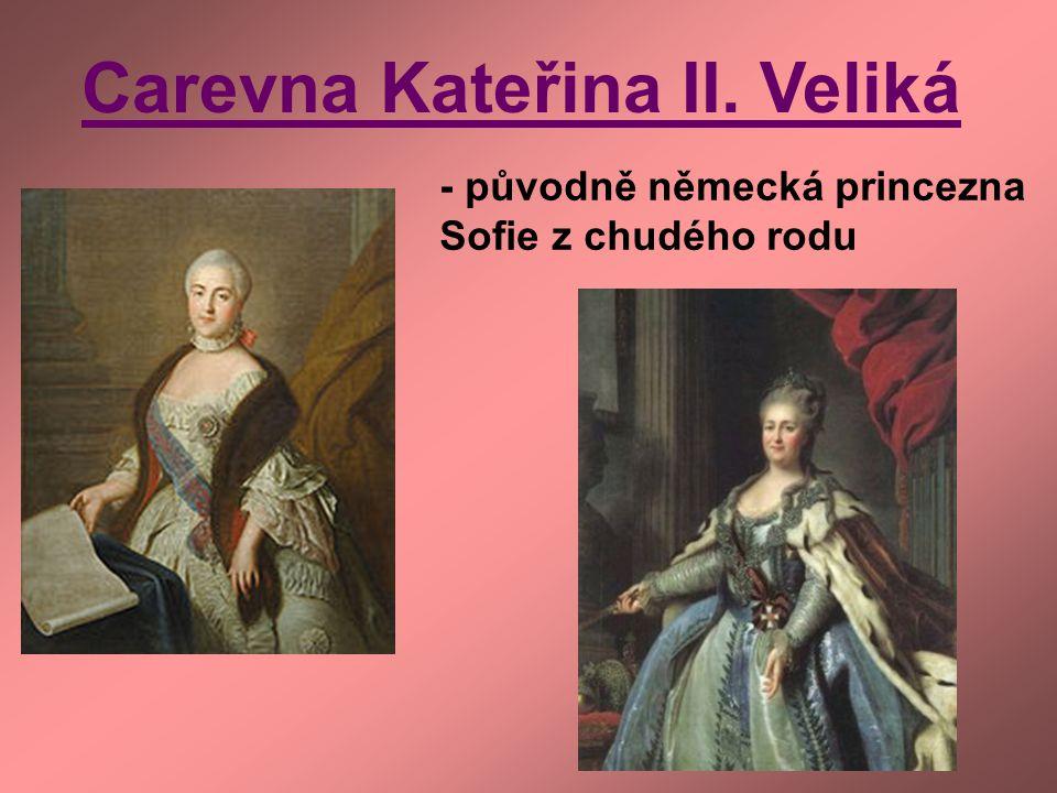Carevna Kateřina II. Veliká