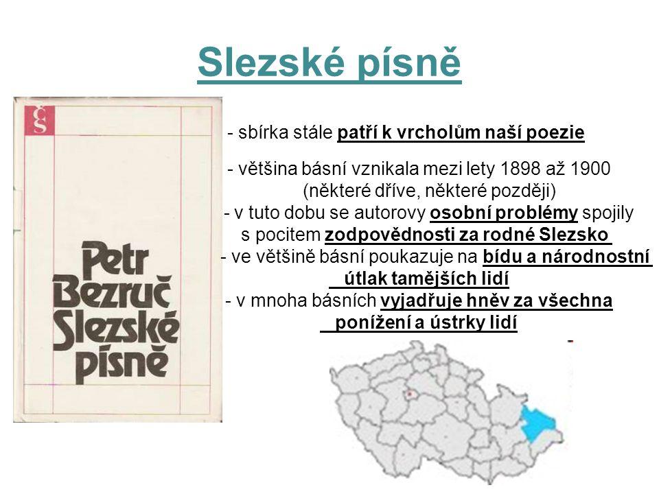 Slezské písně - sbírka stále patří k vrcholům naší poezie