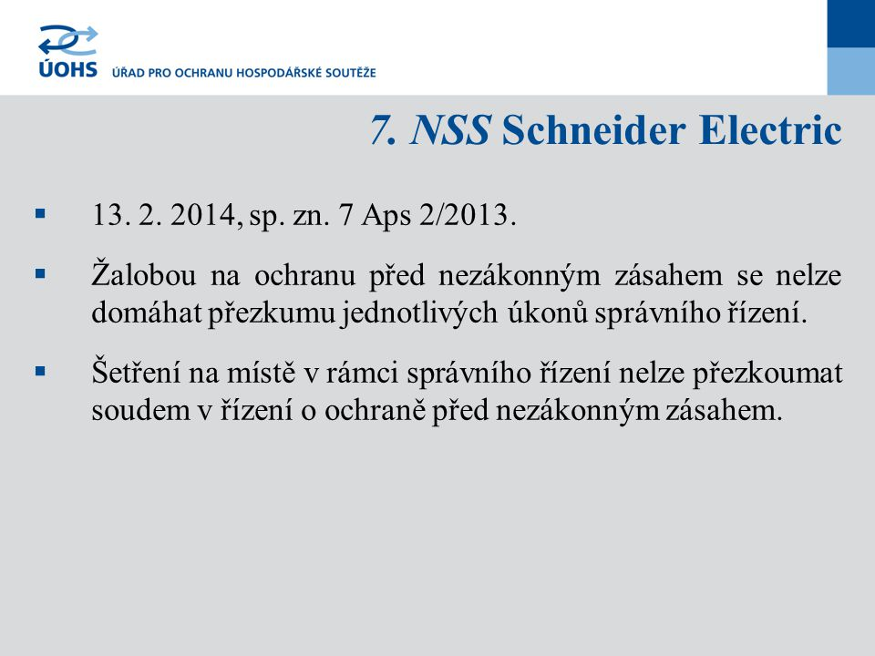 7. NSS Schneider Electric