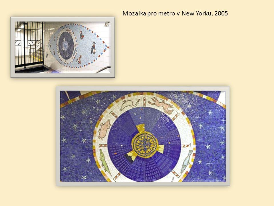 Mozaika pro metro v New Yorku, 2005