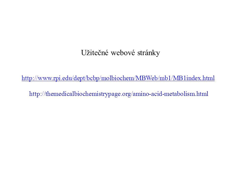 Užitečné webové stránky