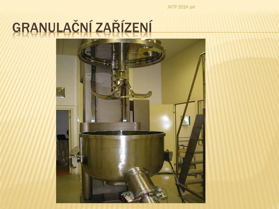 JKTP 2014 pd Granulační zařízení