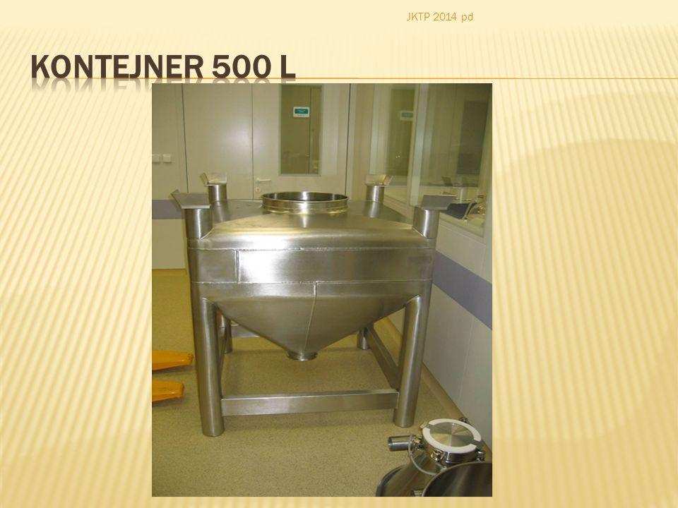 JKTP 2014 pd Kontejner 500 l