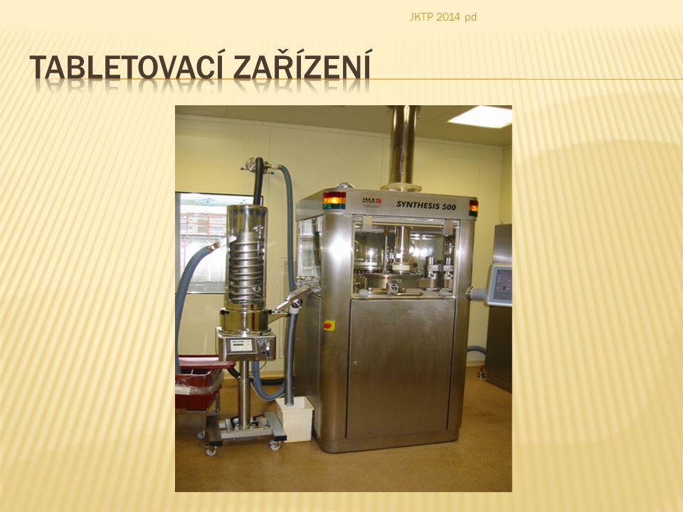 JKTP 2014 pd Tabletovací zařízení