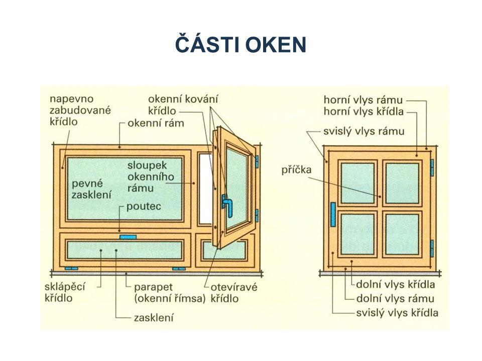 Zdroje Části oken Příklad: Stránka se dvěma rámci – textovým a rámcem pro obrázek