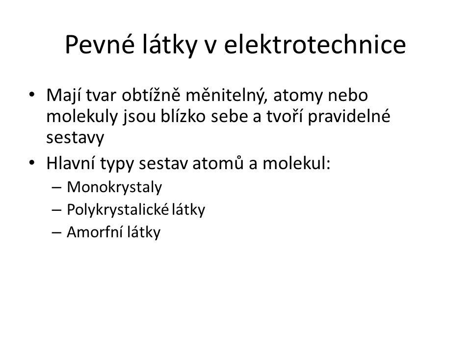 Pevné látky v elektrotechnice