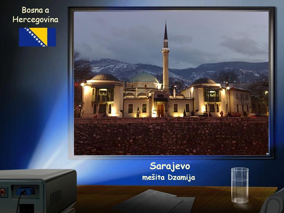 Bosna a Hercegovina Sarajevo mešita Dzamija