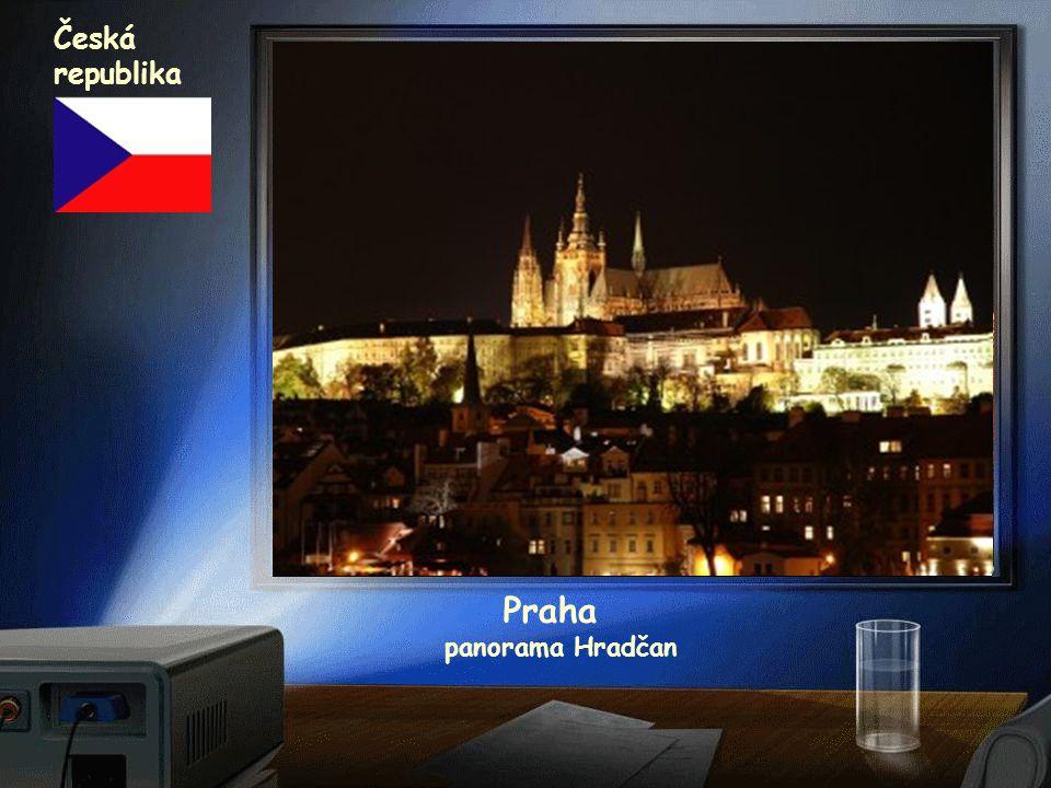 Česká republika Praha panorama Hradčan