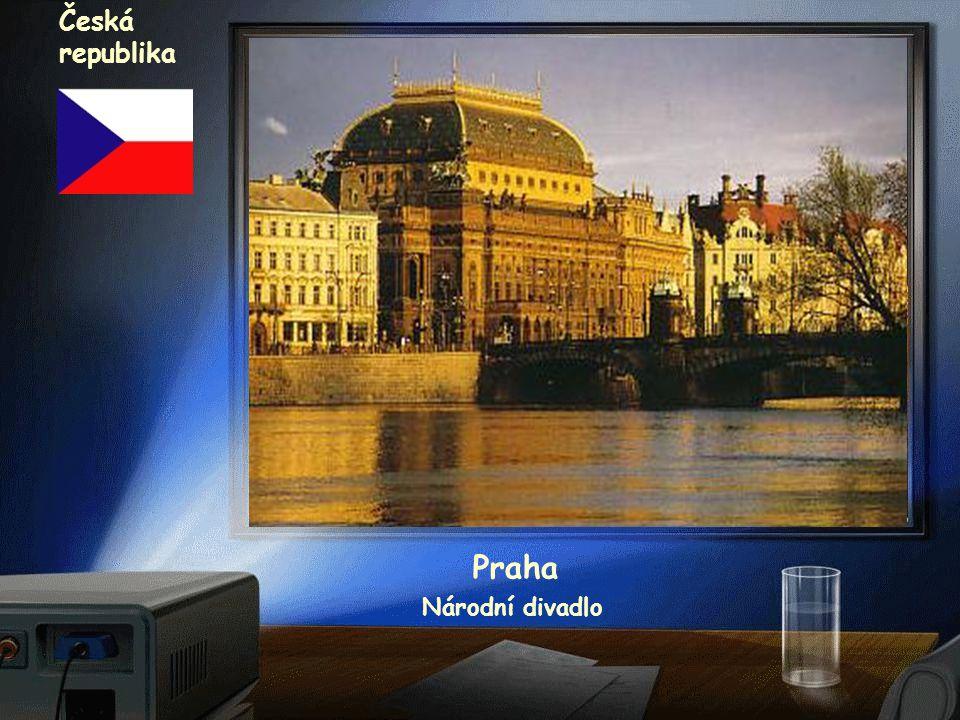 Česká republika Praha Národní divadlo