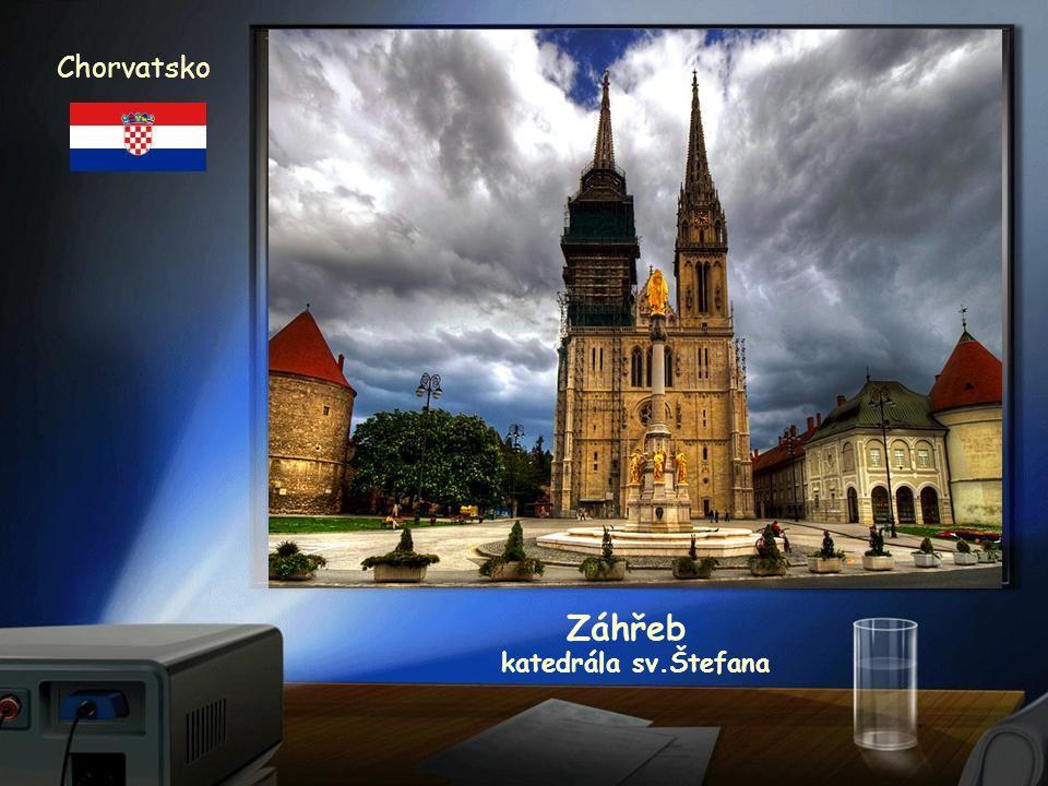 Chorvatsko Záhřeb katedrála sv.Štefana