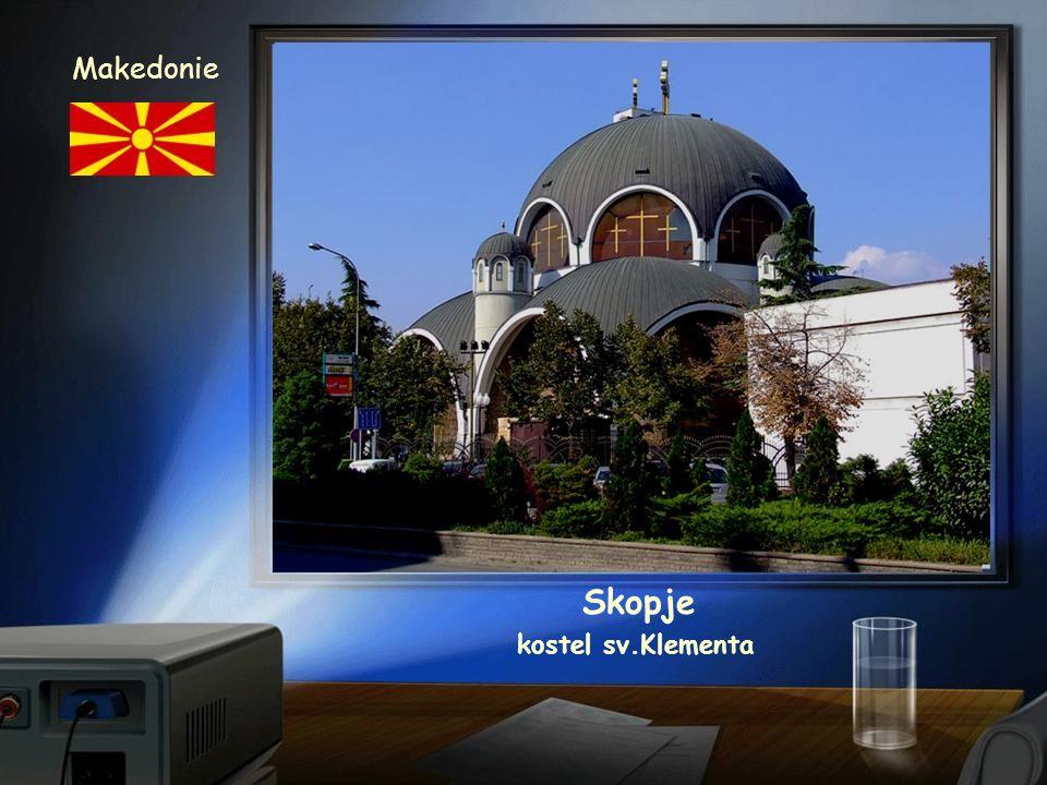 Makedonie Skopje kostel sv.Klementa