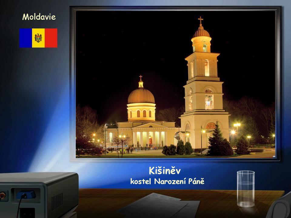 Kišiněv Moldavie kostel Narození Páně