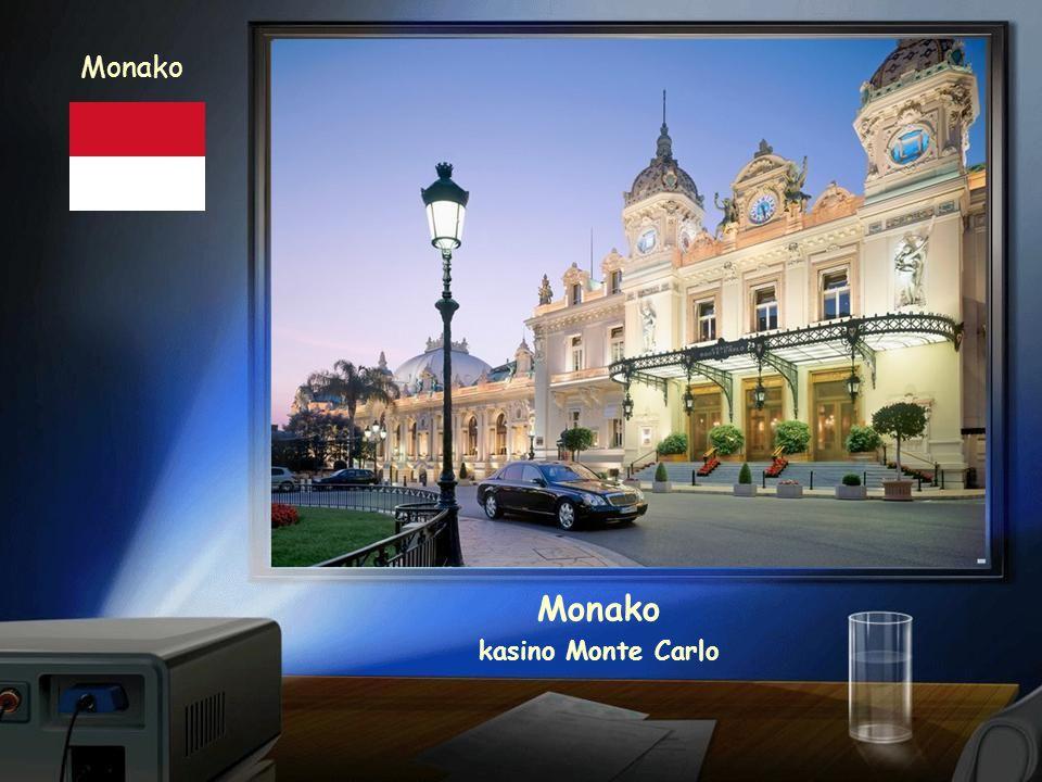 Monako Monako kasino Monte Carlo