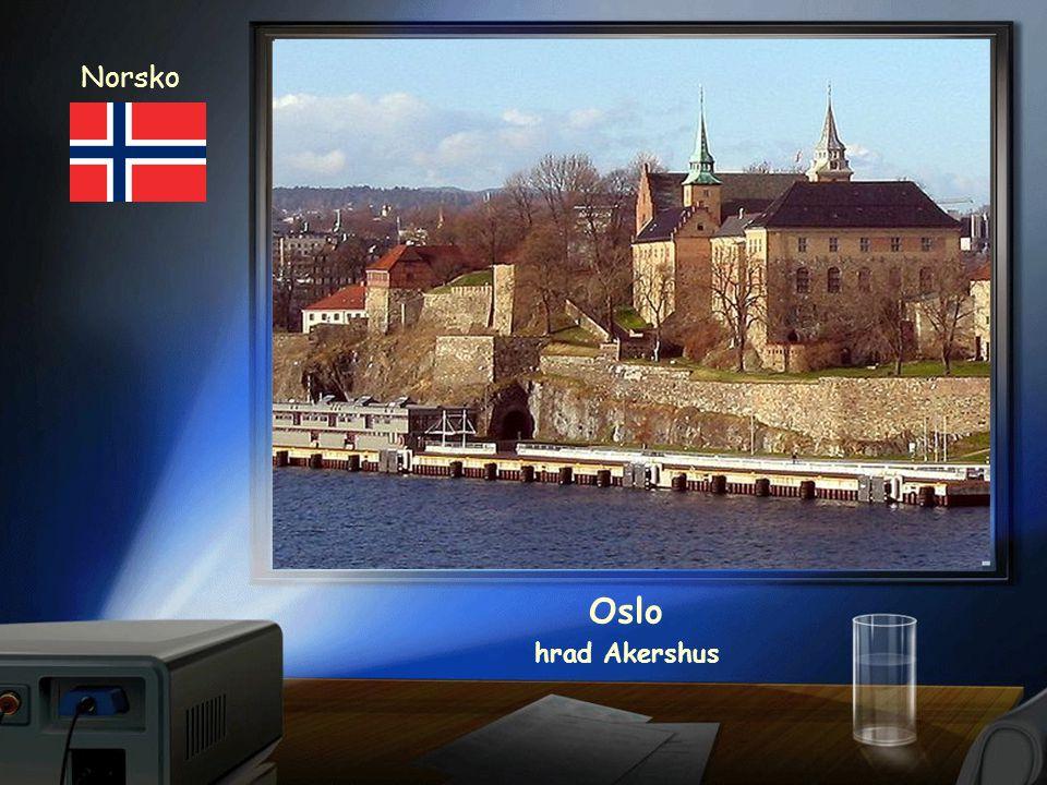 Norsko Oslo hrad Akershus