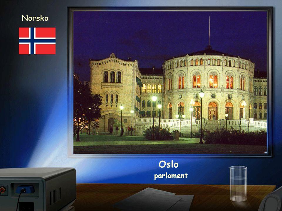Norsko Oslo parlament