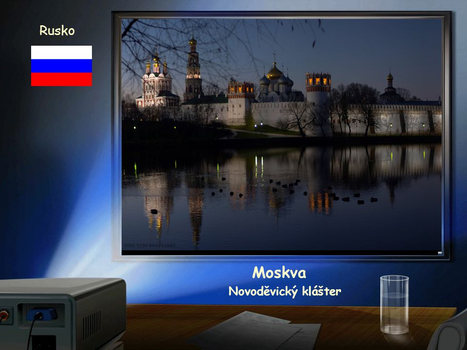Rusko Moskva Novoděvický klášter