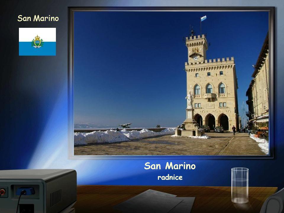 San Marino San Marino radnice