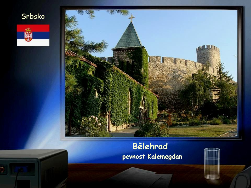 Srbsko Bělehrad pevnost Kalemegdan