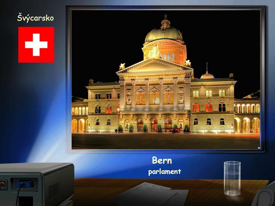 Švýcarsko Bern parlament