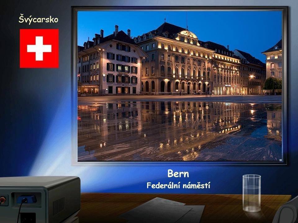 Švýcarsko Bern Federální náměstí