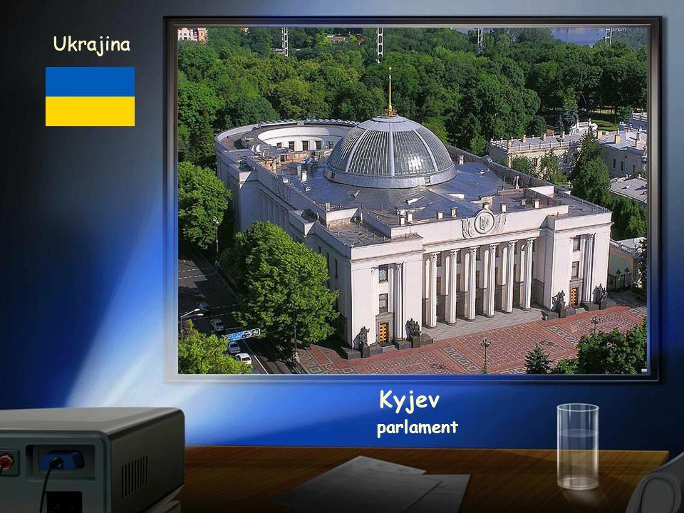 Ukrajina Kyjev parlament