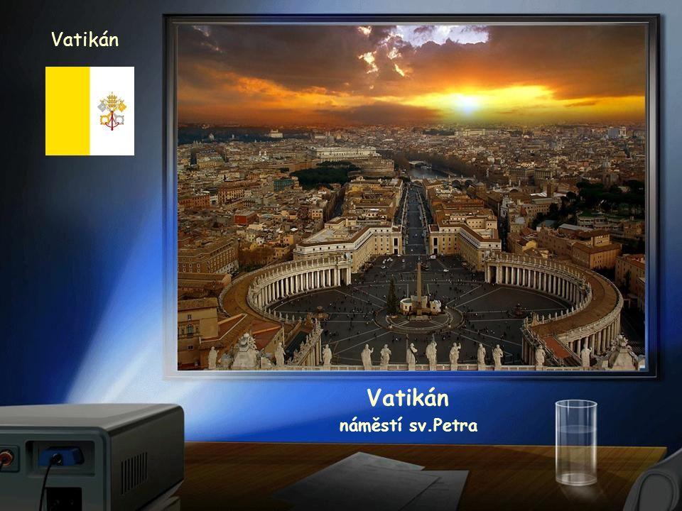 Vatikán Vatikán náměstí sv.Petra