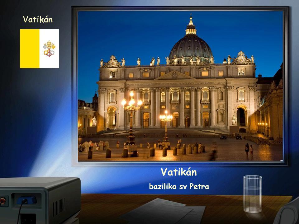 Vatikán Vatikán bazilika sv Petra