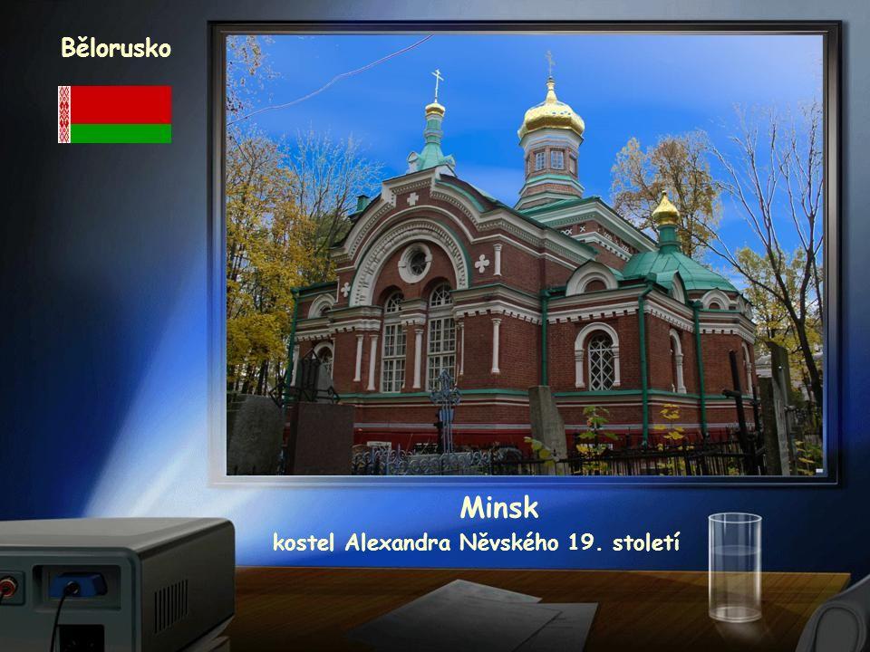 kostel Alexandra Něvského 19. století