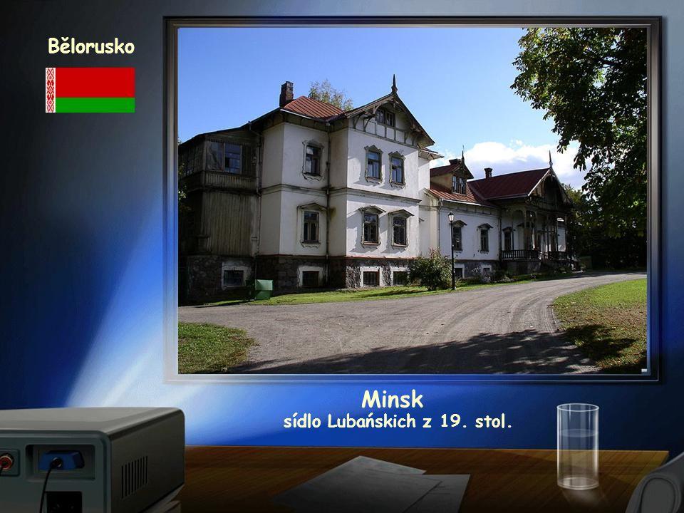 sídlo Lubańskich z 19. stol.