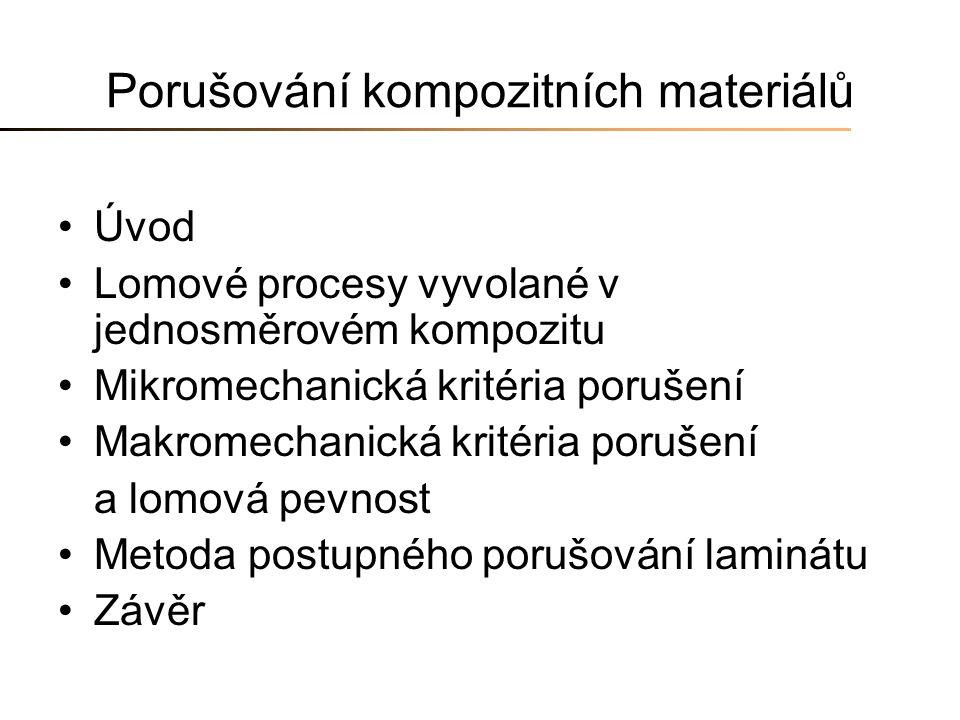 Porušování kompozitních materiálů