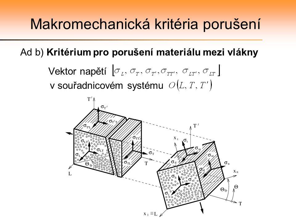 Makromechanická kritéria porušení