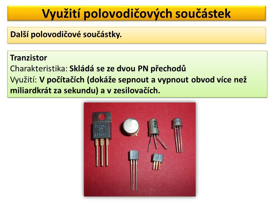 Využití polovodičových součástek