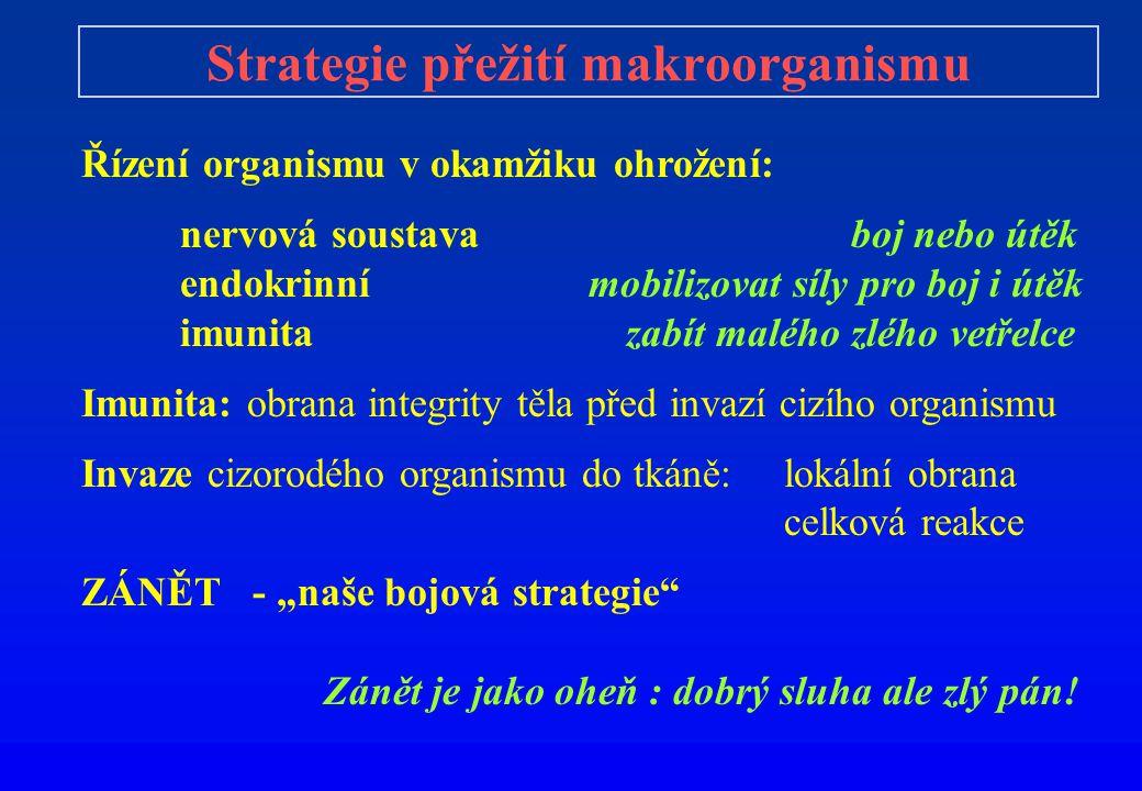 Strategie přežití makroorganismu