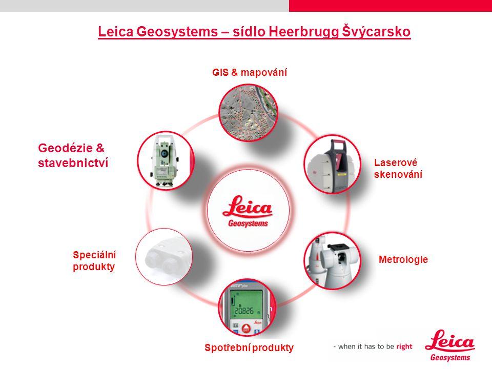 Leica Geosystems – sídlo Heerbrugg Švýcarsko