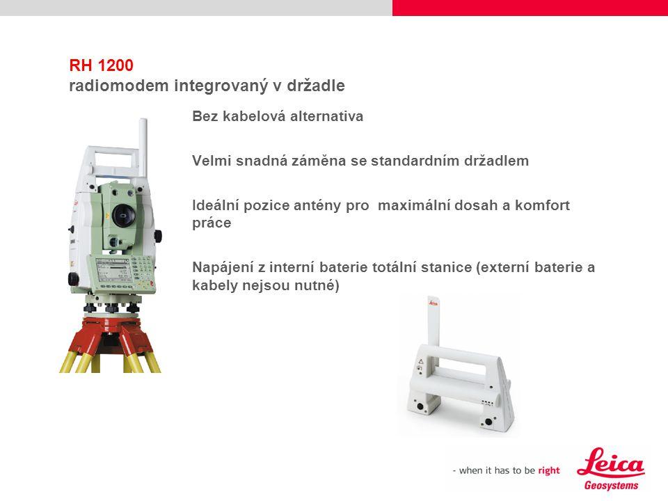 RH 1200 radiomodem integrovaný v držadle