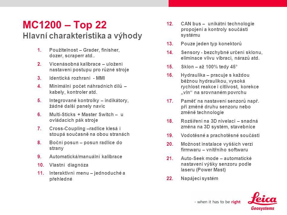 MC1200 – Top 22 Hlavní charakteristika a výhody