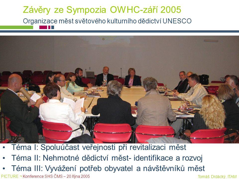 Závěry ze Sympozia OWHC-září 2005