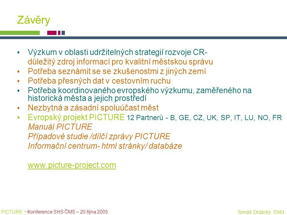 Závěry Výzkum v oblasti udržitelných strategií rozvoje CR-