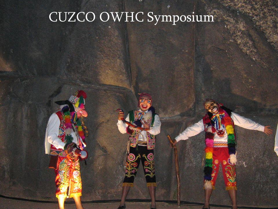 CUZCO OWHC Symposium