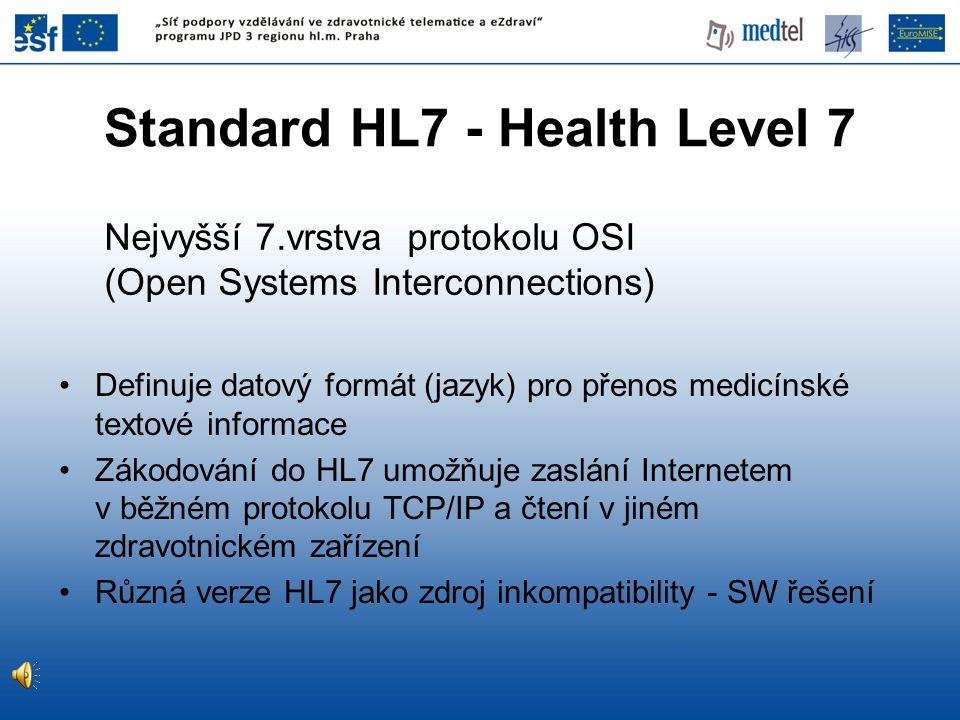 Standard HL7 - Health Level 7