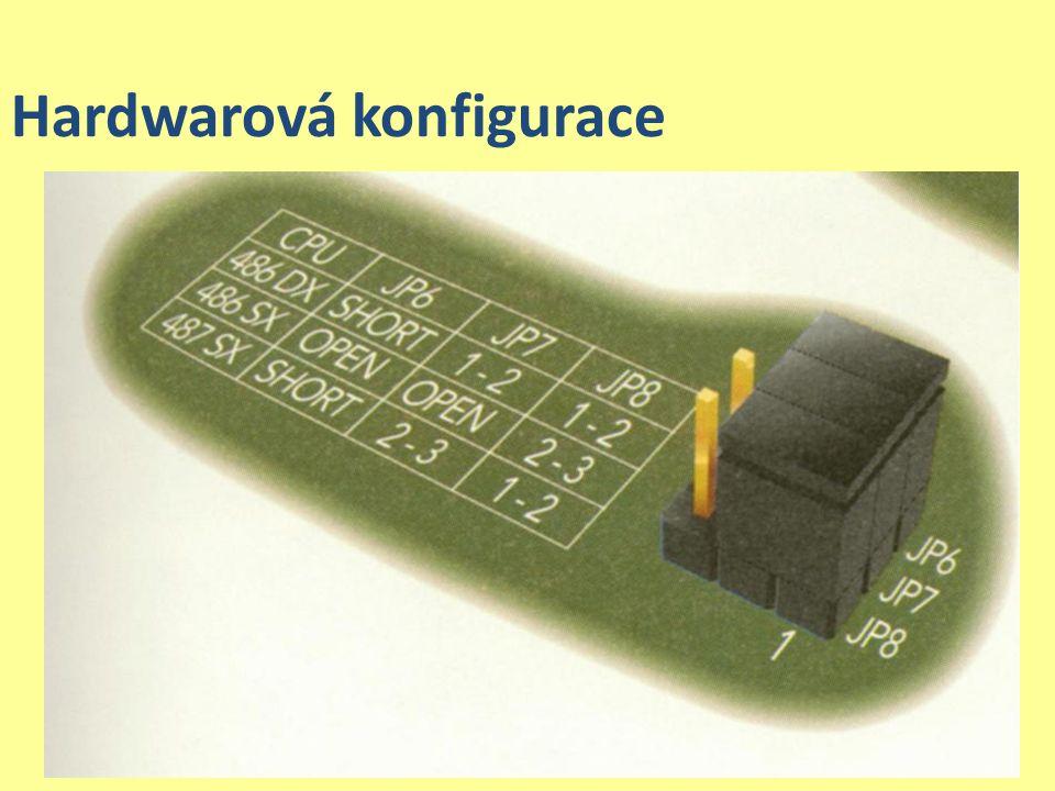 Hardwarová konfigurace