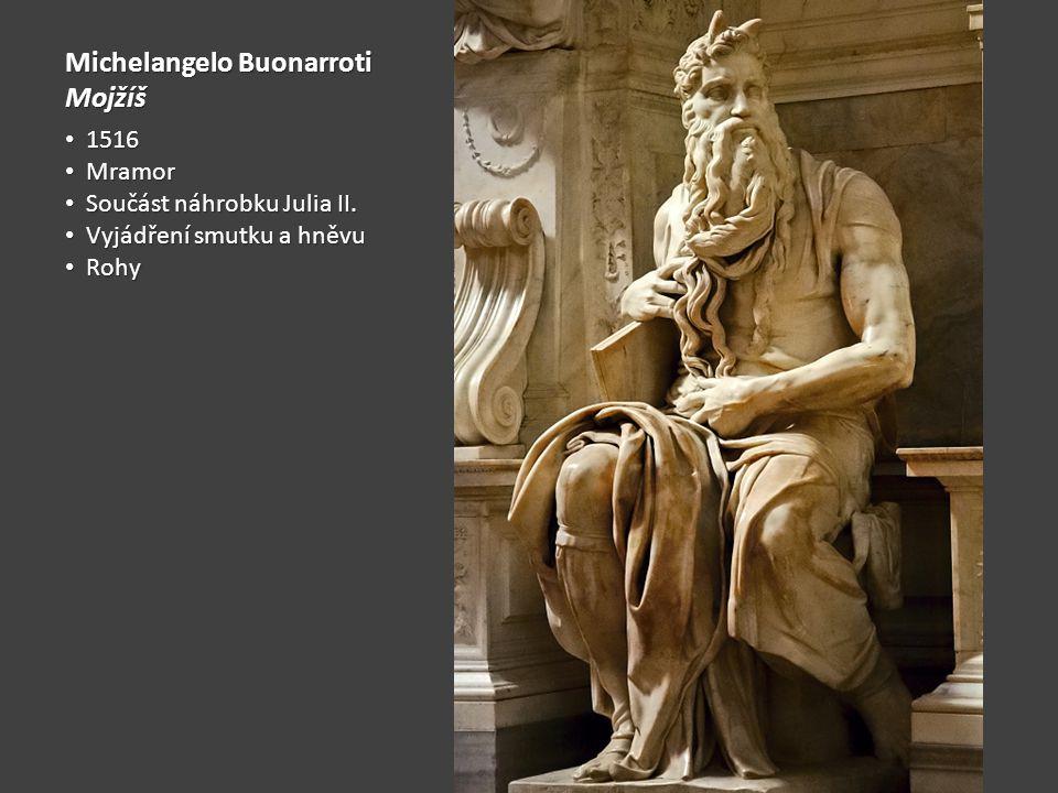 Michelangelo Buonarroti Mojžíš