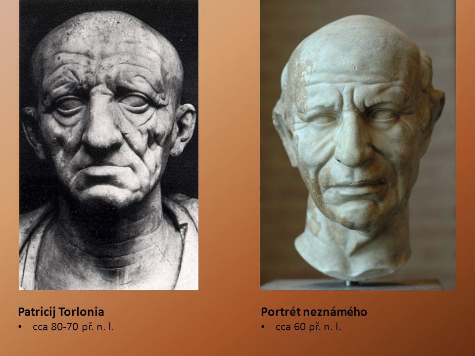 Patricij Torlonia Portrét neznámého cca 80-70 př. n. l.