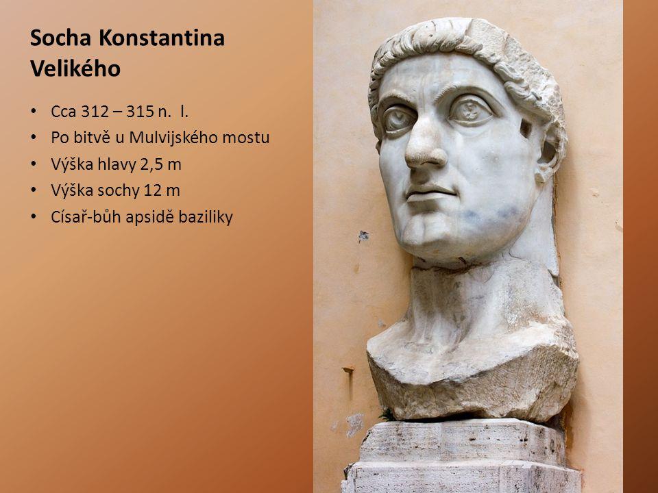 Socha Konstantina Velikého