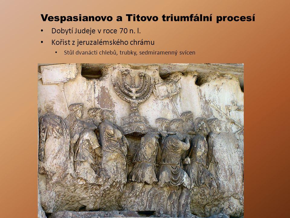 Vespasianovo a Titovo triumfální procesí