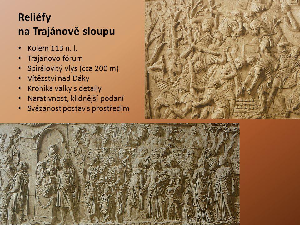 Reliéfy na Trajánově sloupu